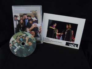 UCL Special Offer: DVD & Single Centre Stage Photo (Personalised),+Free Social Media Digital Image